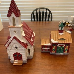 Department 56 Holiday - Good Shepherd Chapel and Church School